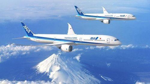 20 máy bay Boeing 787 Dreamliner gia nhập hãng bay ANA Nhật Bản