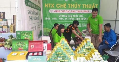 Thái Nguyên: Sản phẩm OCOP gắn với xây dựng nông thôn mới