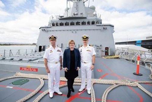 Hải quân Australia nhận chiếc khu trục hạm lớp Horbat cuối cùng