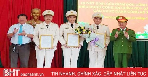 Hương Khê hoàn thành đưa công an chính quy về 21 xã, thị trấn