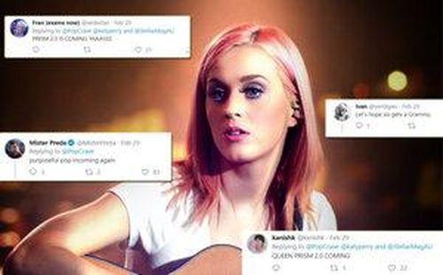 Các hit Roar, Unconditionally và Dark Horse sẽ được tái hiện trong album mới nhất của Katy Perry?