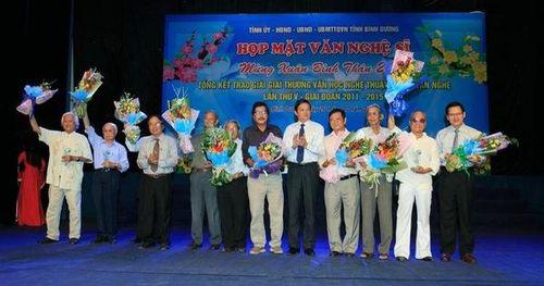 Bình Dương phát động cuộc thi Giải thưởng Huỳnh Văn Nghệ lần thứ VI