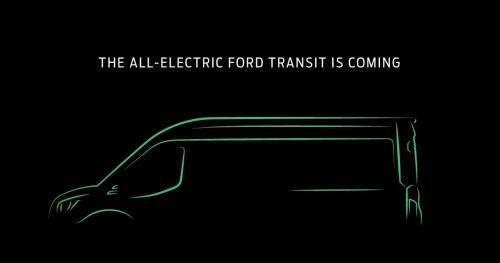 Ford 'úp mở' về chiếc xe tải chạy hoàn toàn bằng điện