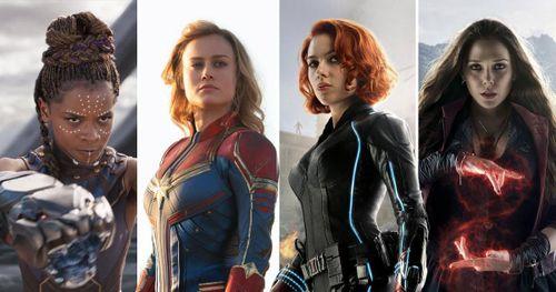 Những nữ siêu anh hùng xinh đẹp, mạnh mẽ nhất vũ trụ Marvel