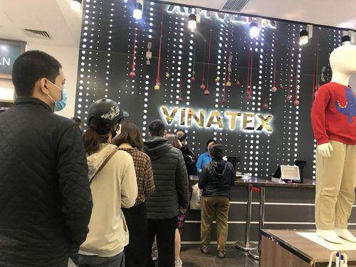 Hôm nay: Vinatex bán lẻ 150-200 nghìn khẩu trang kháng khuẩn tại Hà Nội