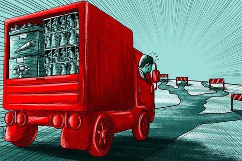 Hoa quả chín thối không người thu hái, dân Trung Quốc thất thu nặng