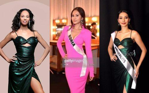 Cho đối thủ mượn đồ: Minh Tú với chiếc váy 'xuyên quốc gia', H'Hen Niê phải xin lỗi vì cho bạn xài váy cũ