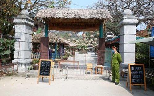 Ninh Bình phong tỏa một số cơ sở lưu trú