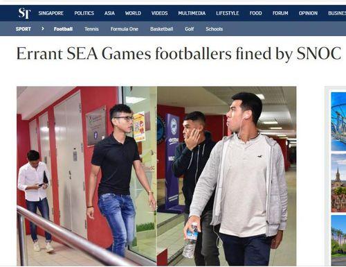9 tuyển thủ Singapore trốn đi đánh bạc sau trận thua Thái Lan ở SEA Games 30