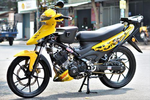 Suzuki FX xuất hiện trong bản độ của dân chơi TP.HCM