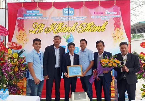 Zila Vietnam khánh thành nhà máy nước Zila Water