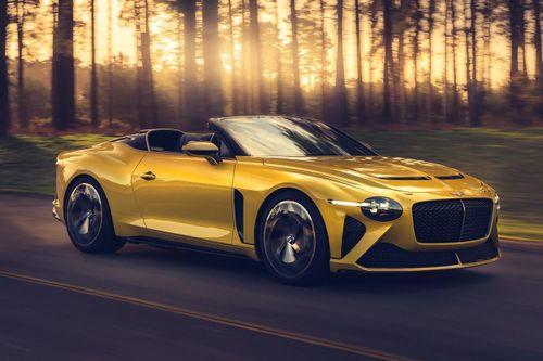 Bentley ra mắt siêu xe mui trần, giới hạn 12 chiếc trên thế giới