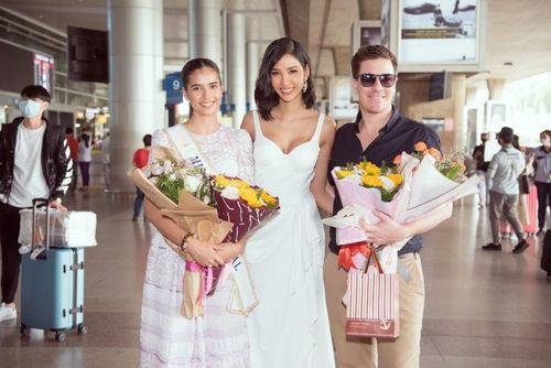 Hoàng Thùy đón đương kim Miss Supranational tới thăm Việt Nam