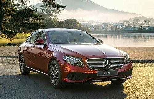Mercedes E 180 ra mắt với giá 2,050 tỷ đồng