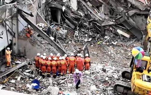 Tổng cộng 29 người thiệt mạng trong vụ sập khách sạn ở Trung Quốc