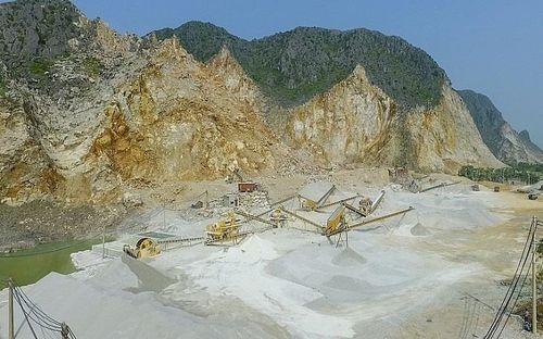 Thanh Hóa: Công ty Hà Liên bị xử phạt, truy thu gần 900 triệu đồng đối với các hành vi vi phạm khai thác khoáng sản
