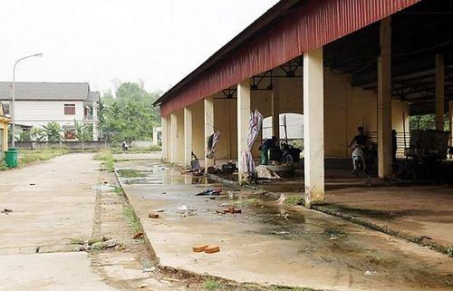 Lãng phí chợ nông thôn
