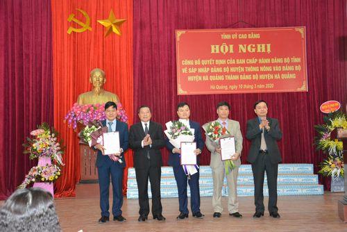 Cao Bằng, Cà Mau triển khai quyết định nhân sự của Ban Bí thư