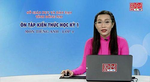 Đồng Nai: Học sinh tiểu học cũng được học qua truyền hình