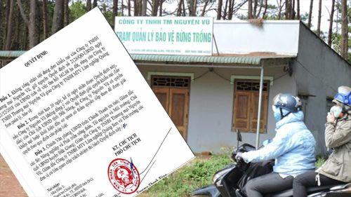Công ty của vợ nguyên PGĐ Công an tỉnh Đắk Nông bán đất rừng trái phép