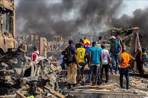 Số người chết trong vụ nổ ở Nigeria tiếp tục tăng
