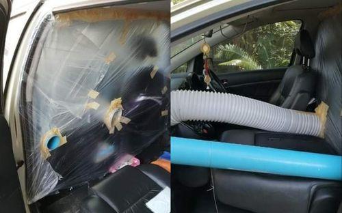 Bố chế 'phòng cách ly' trên ôtô để đón con về từ tâm dịch Italy