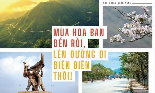 Mùa hoa ban đến rồi, lên đường đi Điện Biên thôi!