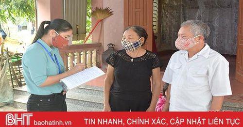 Đổi mới cách làm, tỷ lệ bao phủ BHYT ở Đức Thuận tăng gần 20%
