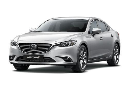 Mazda6 giảm giá mạnh trong tháng 6, 'đe nẹt' Toyota Camry, Honda Accord