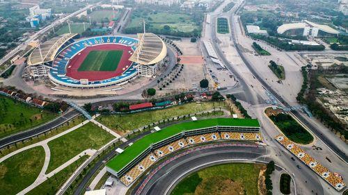 Toàn cảnh đường đua F1 ở Hà Nội