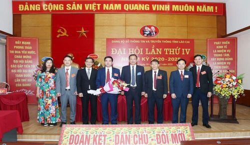 Đảng bộ Sở Thông tin và Truyền thông Lào Cai tổ chức thành công Đại hội lần tỉnh thứ IV