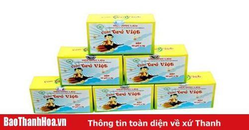 Đình chỉ lưu hành và thu hồi thuốc Cốm Trẻ Việt