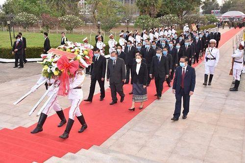 Kỷ niệm 65 năm Ngày thành lập Đảng Nhân dân Cách mạng Lào