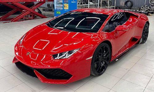 Dân chơi Việt chi hơn 100 triệu sơn siêu xe Lamborghini Huracan