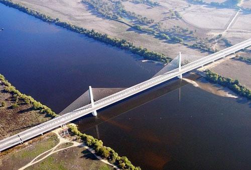 Top 10 cây cầu dài nhất châu Âu