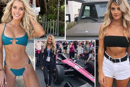 Vẻ đẹp nóng bỏng của nữ tay đua quyến rũ bậc nhất làng thể thao tốc độ - Lindsay Brewer