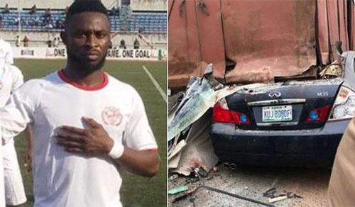 Tuyển thủ Nigeria thiệt mạng sau tai nạn ôtô