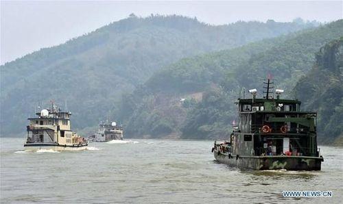 4 nước tuần tra chung trên sông Mekong