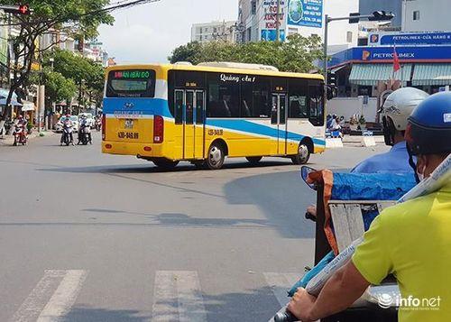 Đà Nẵng: Đình chỉ 15 ngày tài xế, phụ xe buýt đuổi khách không có tiền lẻ