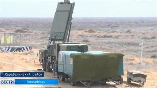 Nga thử siêu radar của S-500 tại Syria?