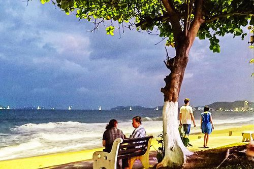 Dạo biển Nha Trang