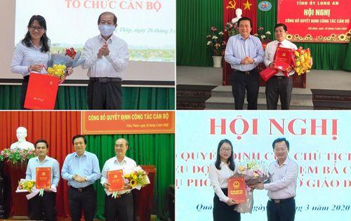 Long An, Đồng Tháp, Quảng Ninh bổ nhiệm nhân sự, lãnh đạo mới