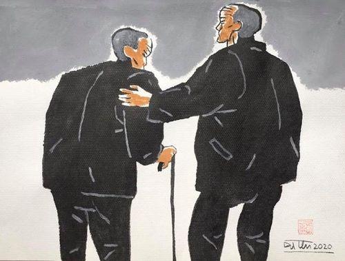 Đấu giá tác phẩm nghệ thuật 'Vượt qua đại dịch Covid-19'