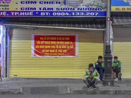 Chùm ảnh đường phố Huế sau khuyến cáo không tụ tập đông người