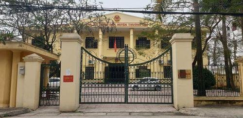 Tại huyện Thường Tín, TP Hà Nội: Nghi vấn xác định sai án tích của một bị cáo