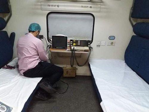 Học Ấn Độ, Pakistan biến tàu hỏa thành bệnh viện dã chiến chữa COVID-19
