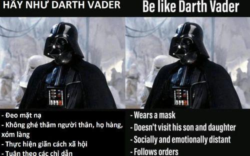 'Chúa tể' Darth Vader đổi nghề, gã hề Pennywise câu mồi nạn nhân bằng giấy vệ sinh