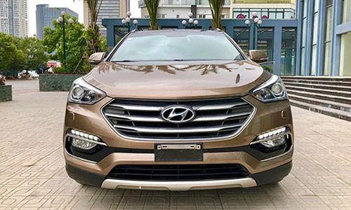 Hyundai SantaFe 2016 dùng chán, bán hơn 900 triệu tại Việt Nam