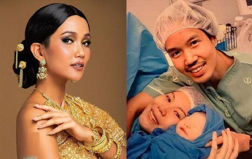 'Phù dâu' H'Hen Niê chúc mừng Miss Universe Thái Lan đã sinh con đầu lòng