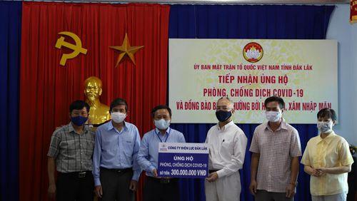 Ủng hộ hơn 1 tỷ đồng chống dịch Covid-19 và hạn hán ở Đắk Lắk